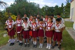 Μαθητές, Αβάνα, Κούβα Στοκ φωτογραφίες με δικαίωμα ελεύθερης χρήσης