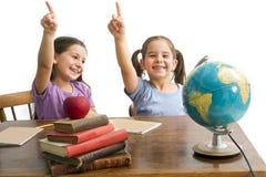 μαθητές κοριτσιών Στοκ Εικόνα