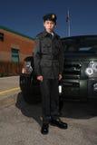 μαθητής στρατιωτικής σχολής στρατού στοκ εικόνες