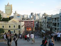 Μακάο, Κίνα Στοκ φωτογραφία με δικαίωμα ελεύθερης χρήσης
