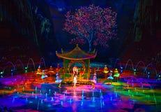 Μακάο - 20 Νοεμβρίου 2015: Το σπίτι του χορεύοντας νερού Στοκ Φωτογραφίες