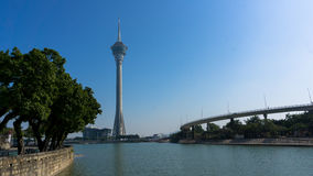 Μακάο: Πύργος του Μακάο Στοκ φωτογραφία με δικαίωμα ελεύθερης χρήσης