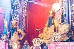 ΜΑΚΑΟ - 13 Δεκεμβρίου 2015: Sam Kai Vui Kun (ναός Guandi) ένα διάσημο Wo Στοκ Εικόνες