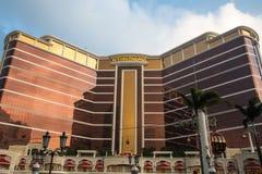 ΜΑΚΑΟ - 29 ΟΚΤΩΒΡΊΟΥ: Παλάτι Wynn στο Μακάο στις 29 Οκτωβρίου 2016 στοκ εικόνα