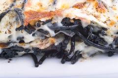 Μακαρόνια με το ψημένο τυρί Στοκ εικόνα με δικαίωμα ελεύθερης χρήσης