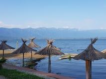 Μακεδονία άχρονη, dojran, λίμνη doyran στοκ φωτογραφία