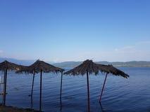 Μακεδονία άχρονη, dojran, λίμνη doyran στοκ εικόνες