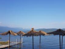 Μακεδονία άχρονη, dojran, λίμνη doyran στοκ εικόνες με δικαίωμα ελεύθερης χρήσης