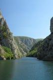 Μακεδονία, φαράγγι Matka Στοκ Εικόνες