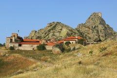 Μακεδονία, Treskavec μοναστήρι, βουνό Zlatov Vrv στοκ εικόνες
