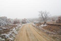 Δρόμος βουνών Στοκ εικόνες με δικαίωμα ελεύθερης χρήσης