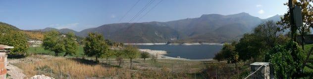 Μακεδονία Λίμνη Tikveshko Μοναστήρι ST George (μοναστήρι Poloshki) Στοκ φωτογραφία με δικαίωμα ελεύθερης χρήσης