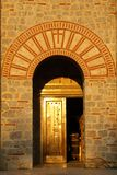 Μακεδονία, εκκλησία Ochrid, Άγιος KClement και Pantelimon της Οχρίδας/ στοκ εικόνες