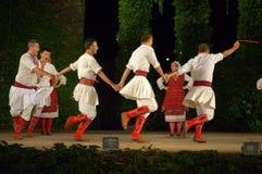Μακεδονικό σύνολο χορού στοκ φωτογραφία με δικαίωμα ελεύθερης χρήσης