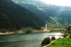 Μακριά λίμνη σε Trabzon Στοκ Εικόνες