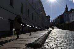 Μακριά αλέα στο Κίεβο Pechersk Lavra, Στοκ Εικόνες