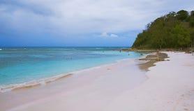 Μακριά ατλαντική ακτή κόλπων - καραϊβική θάλασσα - Αντίγκουα και Μπαρμπούντα Στοκ Εικόνα