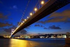 Μακριά γέφυρα πέρα από την ανατολή Στοκ εικόνες με δικαίωμα ελεύθερης χρήσης