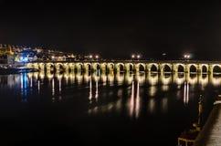 Μακριά γέφυρα Bideford Στοκ Εικόνα