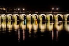 Μακριά γέφυρα Bideford Στοκ Εικόνες
