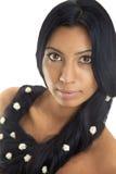 μακριά γυναίκα τριχώματος Στοκ φωτογραφίες με δικαίωμα ελεύθερης χρήσης