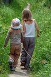μακριά μετάβαση κοριτσιών Στοκ Εικόνα