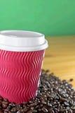 μακριά ο καφές παίρνει Στοκ Φωτογραφίες