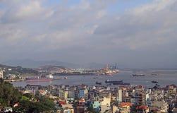 Μακριά πόλη εκταρίου, το βόρειο τμήμα του Βιετνάμ Στοκ εικόνα με δικαίωμα ελεύθερης χρήσης