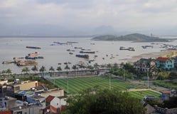 Μακριά πόλη εκταρίου, το βόρειο τμήμα του Βιετνάμ Στοκ φωτογραφίες με δικαίωμα ελεύθερης χρήσης