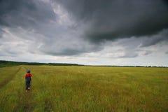 μακριά τρέξιμο κατσικιών Στοκ φωτογραφία με δικαίωμα ελεύθερης χρήσης