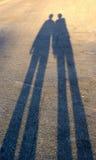 μακριές σκιές Στοκ φωτογραφίες με δικαίωμα ελεύθερης χρήσης