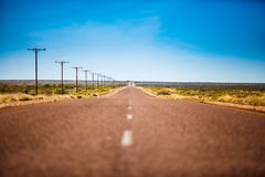 Μακρινός δρόμος Στοκ Φωτογραφία