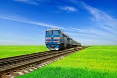 μακρινό τραίνο Στοκ Εικόνα
