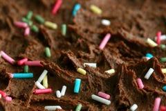 μακροεντολή κέικ γενεθ&la Στοκ φωτογραφία με δικαίωμα ελεύθερης χρήσης