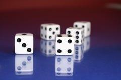 μακροεντολή τυχερού παιχνιδιού στοκ εικόνα