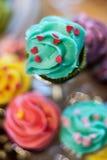 Μακροεντολή κέικ επιδορπίων Στοκ φωτογραφία με δικαίωμα ελεύθερης χρήσης