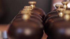 Μακροεντολή μύλων πιπεριών απόθεμα βίντεο