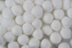 Μακροεντολή οφθαλμών βαμβακιού (πατσαβούρες) Στοκ Φωτογραφία