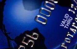 Μακροεντολή πιστωτικών καρτών τράπεζας στοκ εικόνα με δικαίωμα ελεύθερης χρήσης
