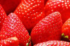 Μακροεντολή φραουλών στοκ εικόνα με δικαίωμα ελεύθερης χρήσης