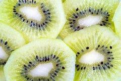 Μακροεντολή φρούτων ακτινίδιων στοκ εικόνες