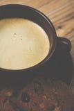 Μακροεντολή φλιτζανιών του καφέ Στοκ φωτογραφία με δικαίωμα ελεύθερης χρήσης