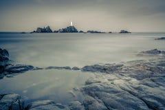 Μακροχρόνια άποψη θάλασσας έκθεσης Στοκ εικόνα με δικαίωμα ελεύθερης χρήσης