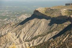 Μακροχρόνια άποψη Mesa Verde Στοκ Εικόνες