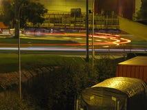 Μακροχρόνια έκθεση στη νύχτα Στοκ φωτογραφία με δικαίωμα ελεύθερης χρήσης