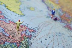 μακροχρόνια αγάπη απόσταση& Στοκ εικόνα με δικαίωμα ελεύθερης χρήσης