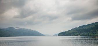 Μακροχρόνιο πανόραμα Argyll και Bute Σκωτία UK λιμνών Στοκ φωτογραφία με δικαίωμα ελεύθερης χρήσης