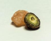 Μακρο αλάτι και πιπέρι Στοκ Εικόνα