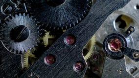 Μακρο βρόχος μηχανισμών ρολογιών Παλαιά εκλεκτής ποιότητας εργασία μηχανισμών ρολογιών φιλμ μικρού μήκους