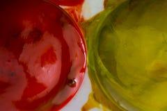 Μακρο γκουας μελανιού closeup Στοκ Φωτογραφία